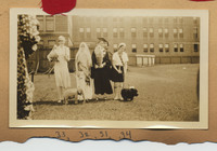 Costumed students on Field Day 1931