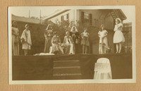 Photograph of 1932 May Fete stage performance