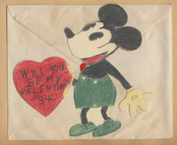 Mickey Mouse valentine