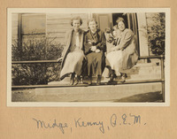 Photograph of Midge, Kenny, and Alice