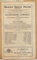 "Katherine Cornell presents ""The Barretts of Wimpole Street"""