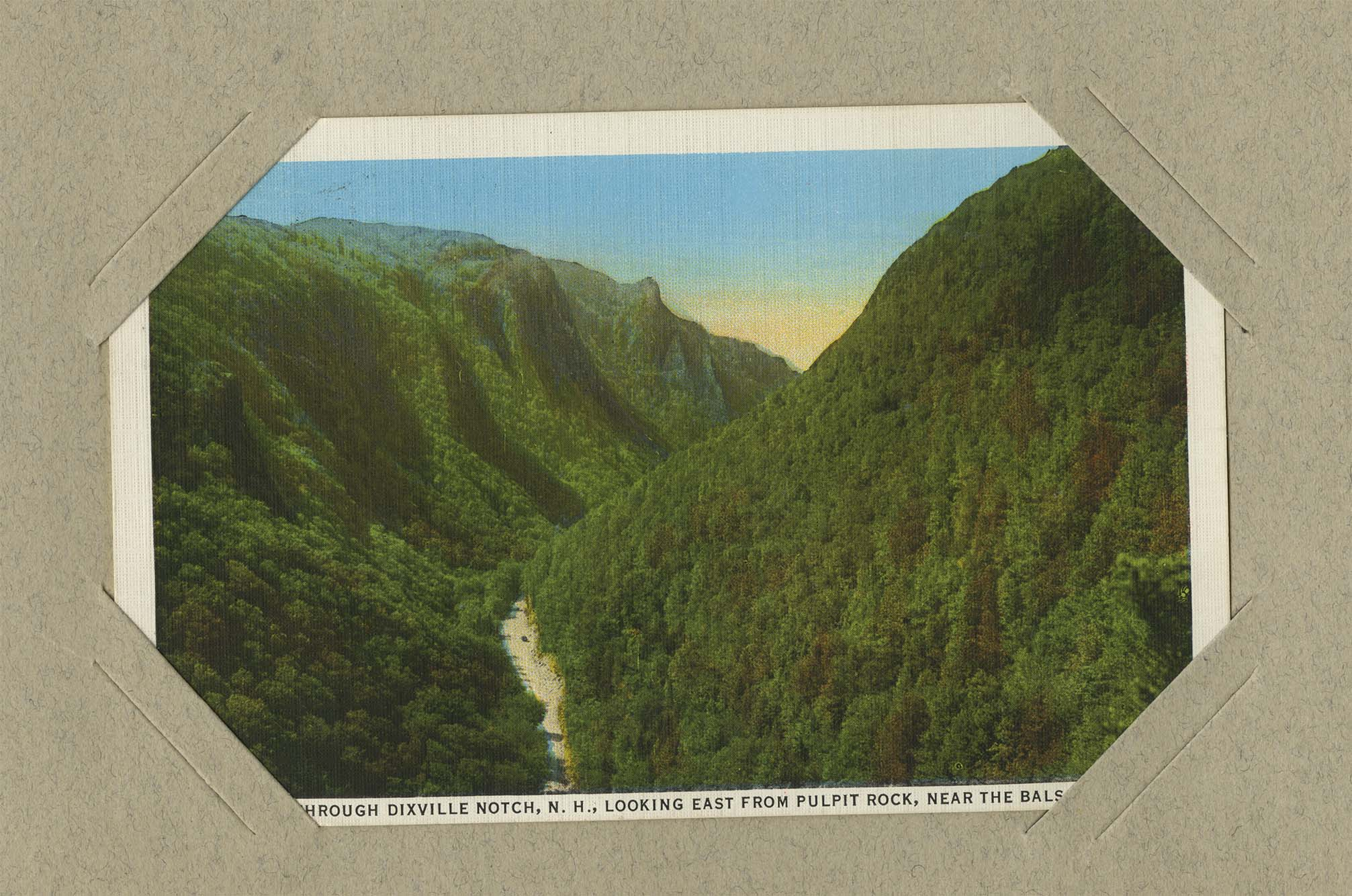 How to scrapbook on a mac - Postcard From Mac To Barbara Shields About Wilderness In New Hampshire