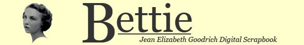 Bettie the Jean Elizabeth Goodrich Digital Scrapbook