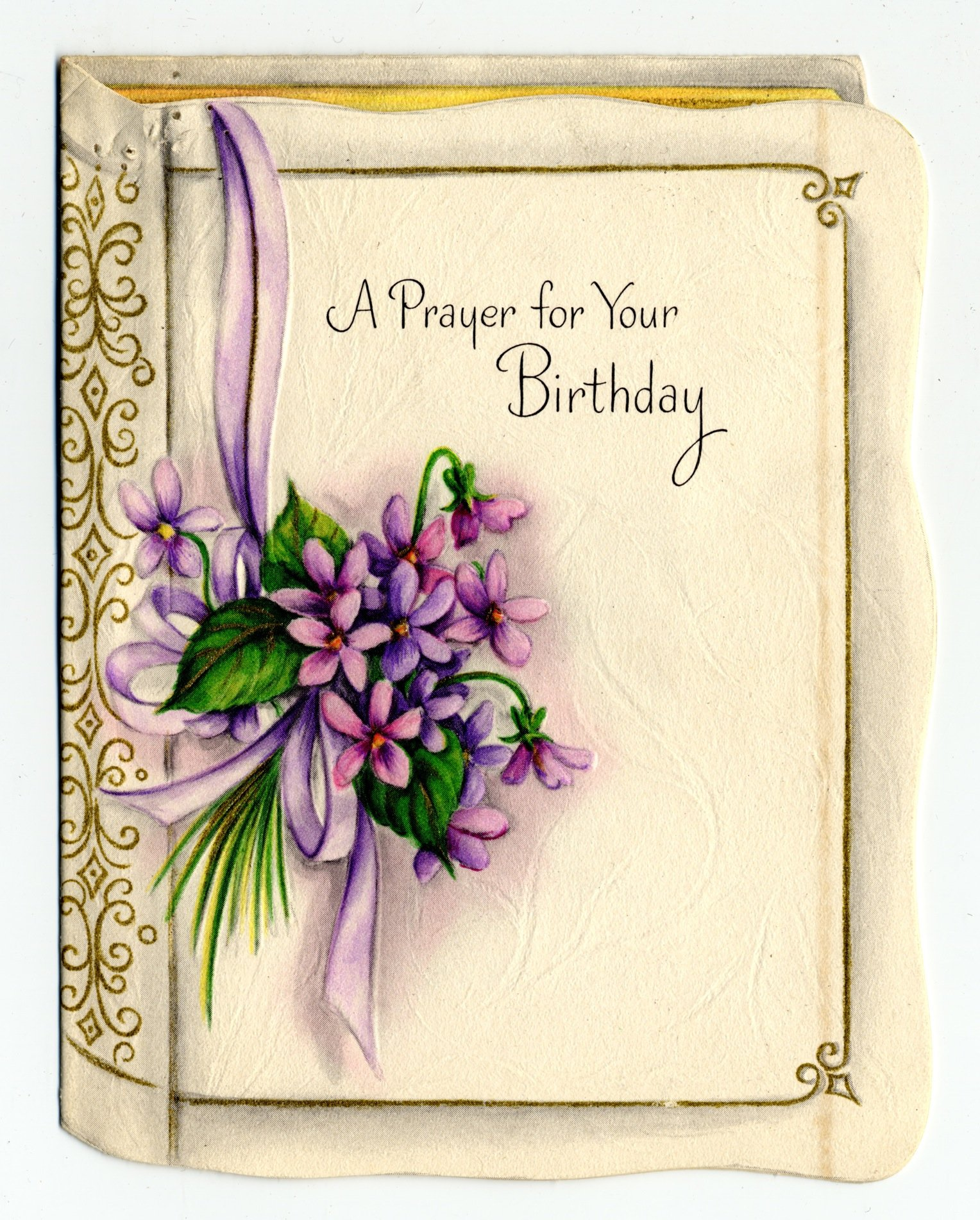 Religion Birthday Cards gangcraftnet – Religious Birthday Card Messages