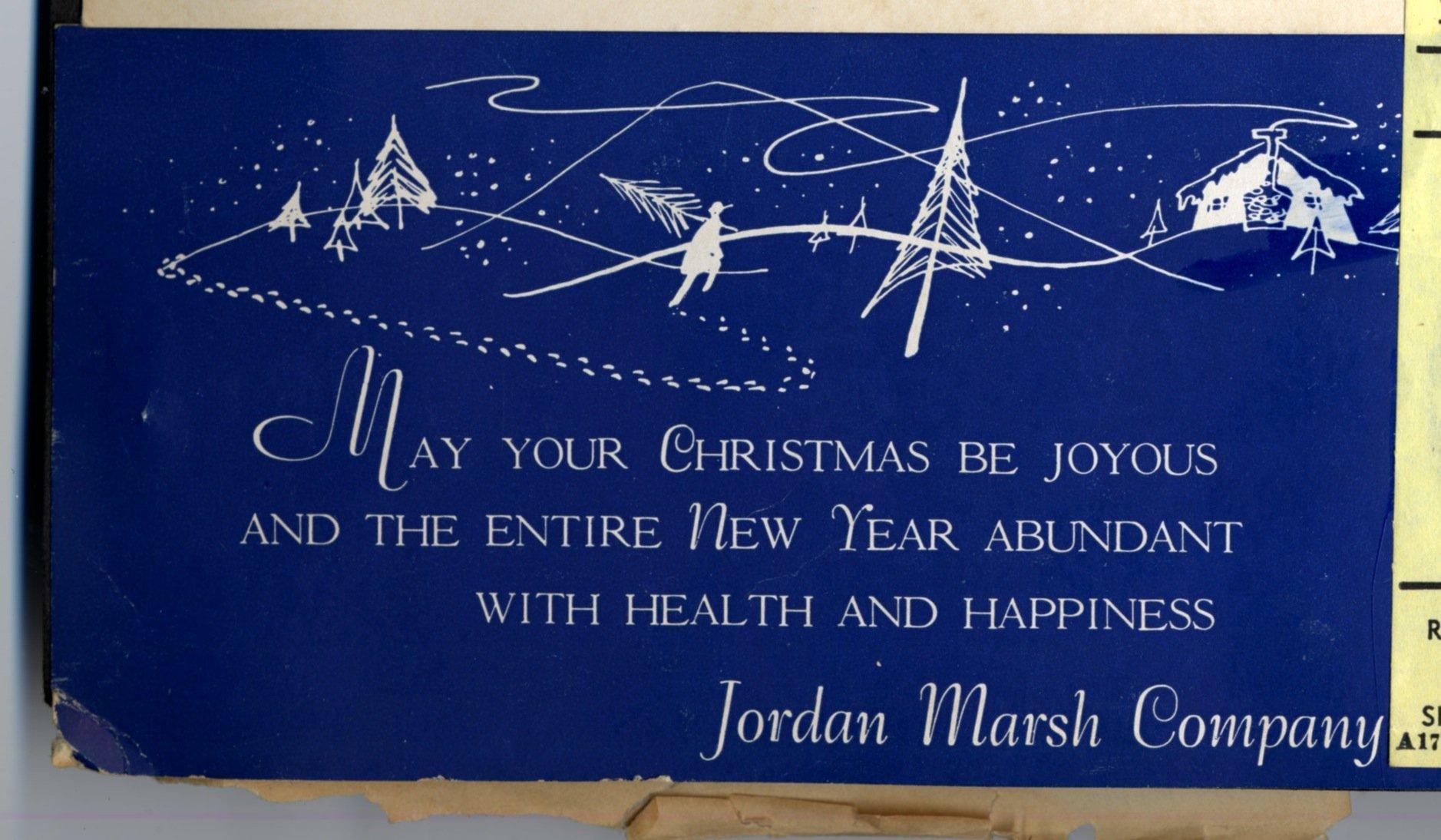 Christmas card photo creator xmast 1 edith hornik beer digital scrapbook jordan marsh company m4hsunfo