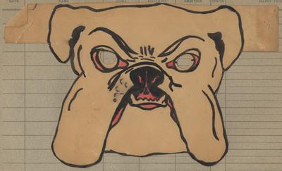 Bulldog mask