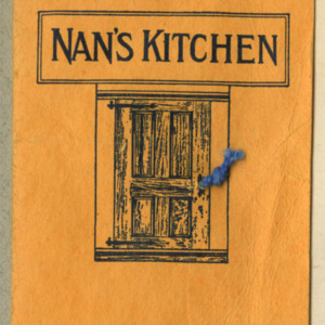 Pamphlet from restaurant, Nan's Kitchen.