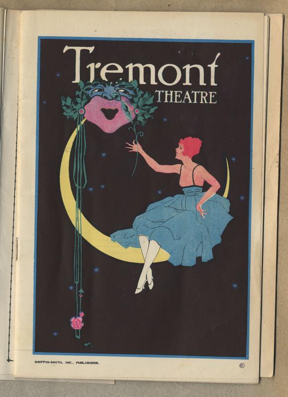 Theatre program. 32 pages